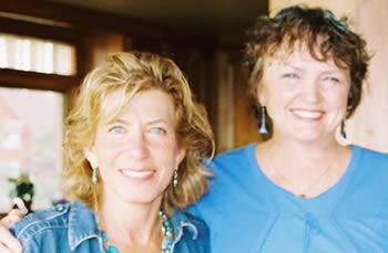 Brenda Ferrimani and Joan Borysenko