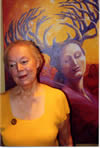 Patricia Garfield and Branching Woman